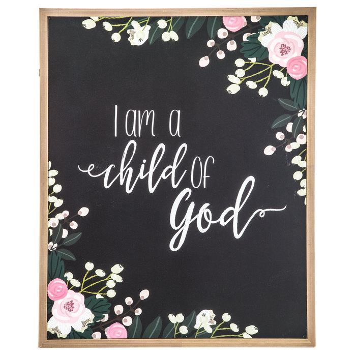 I Am A Child Of God Wood Wall Decor Hobby Lobby 1470905